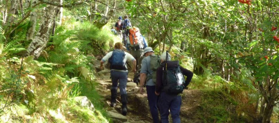 Steall Falls walk
