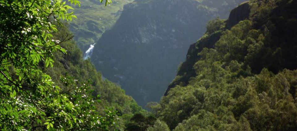 BIg scenery at the Steall Falls