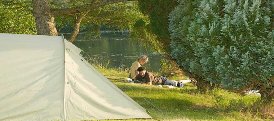 Camping at Linnhe Lochside Holidays