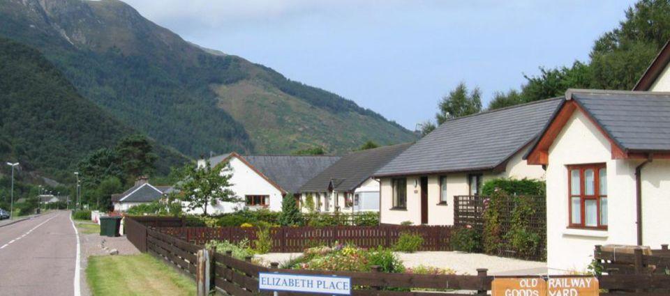 Ballachulish village