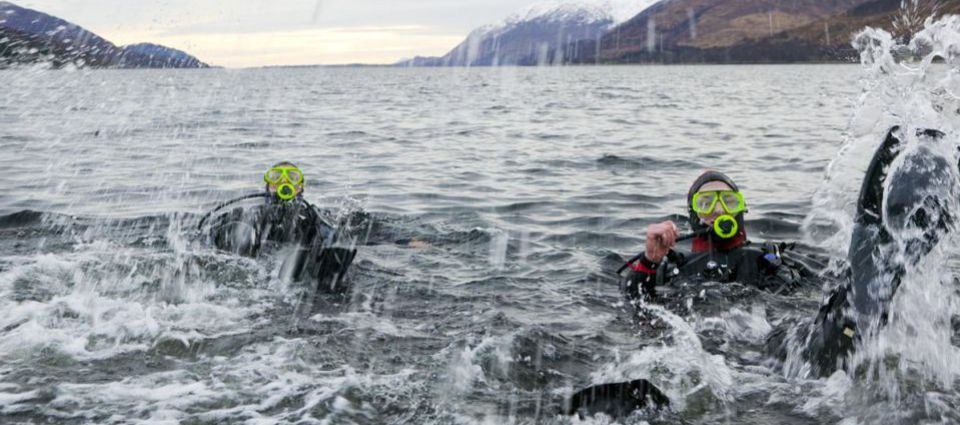 Diving in Loch Linnhe