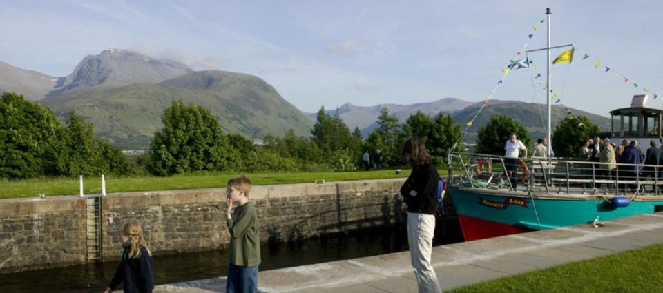 Ben Nevis from the Canal
