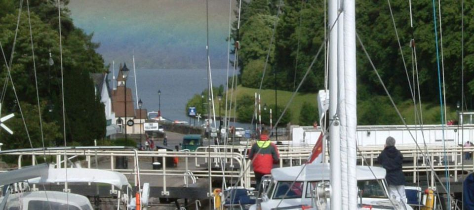 A busy day on the Caledonian Canal