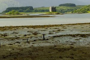Castle Stalker at Appin