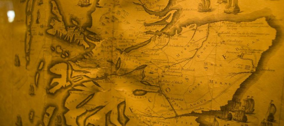 An old map of Scotland