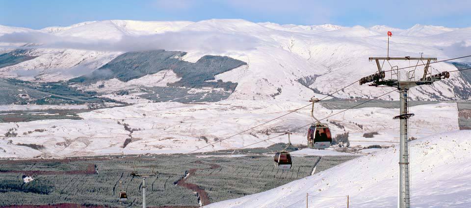 Nevis Range Gondola view