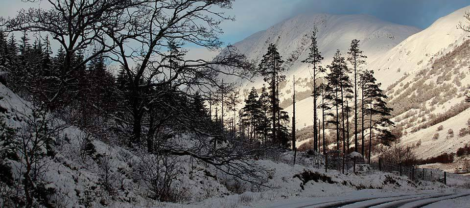 Glen Nevis in winter