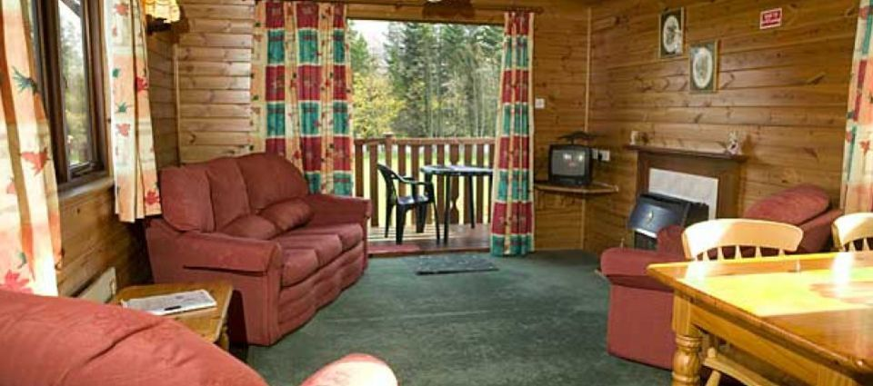 One of our comfortable lodges