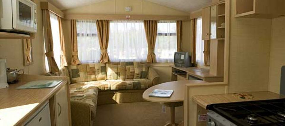 Specious modern caravans