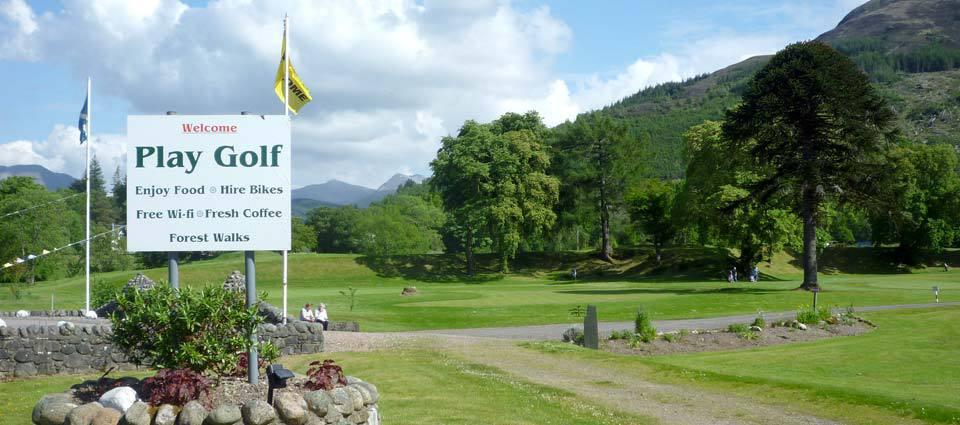 Play golf in Lochaber