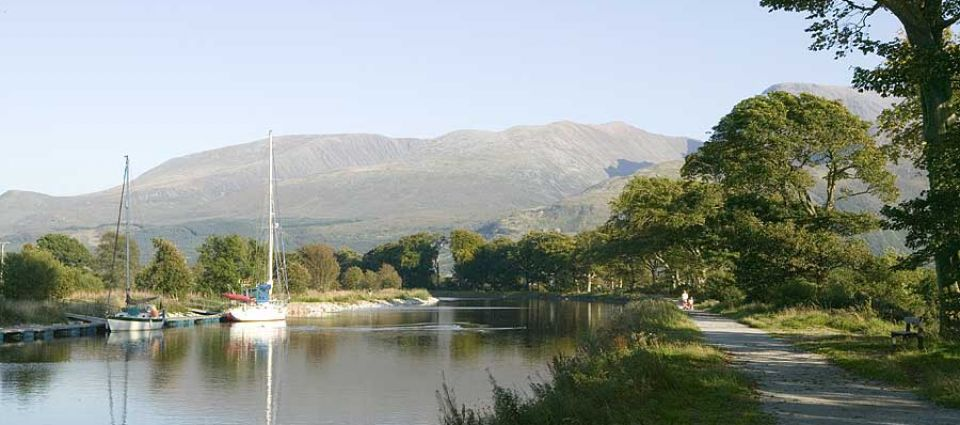 Aonach Mor from the Canal
