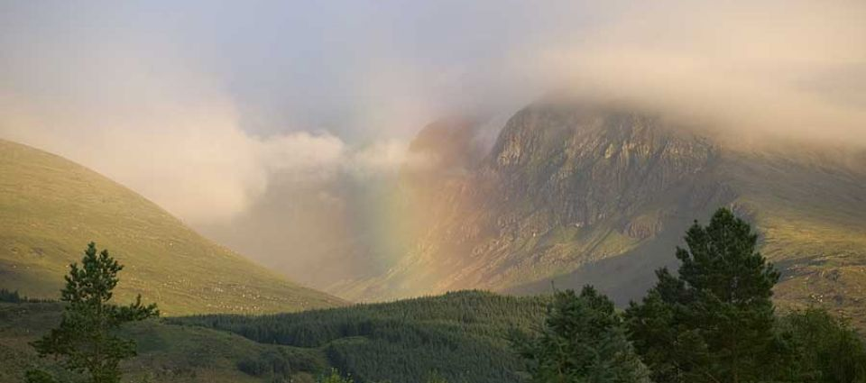 Ben Nevis rainbows
