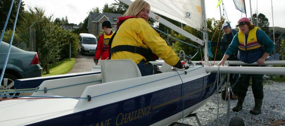 Disabled sailing facilities at LYC