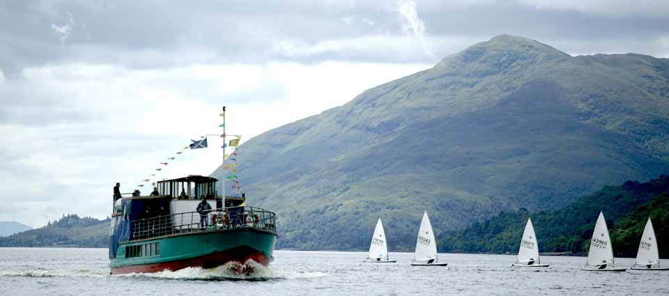 Watch sailing boats on your cruise