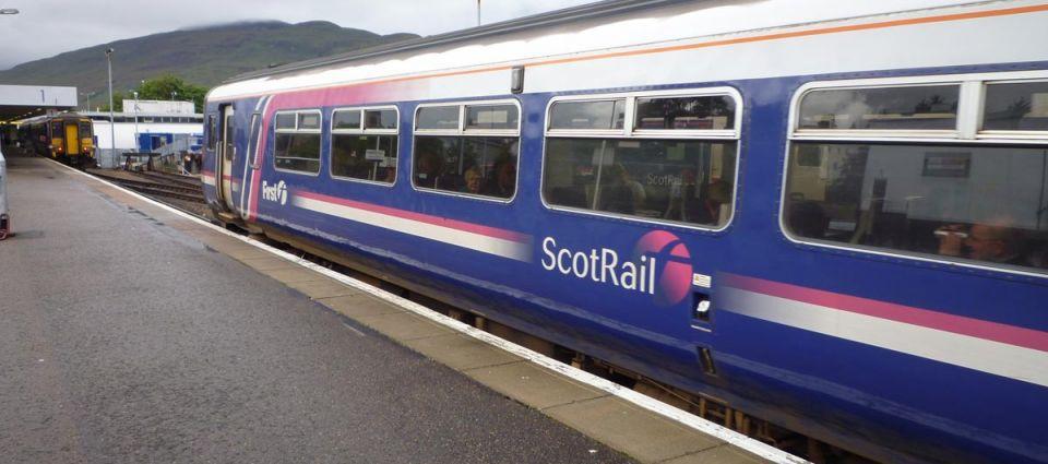 A ScotRail modern commuter