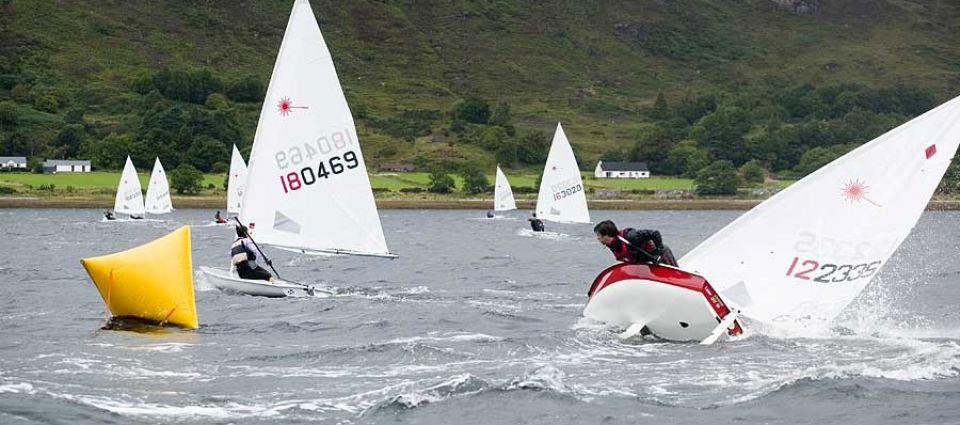 Sailing on Loch Linnhe