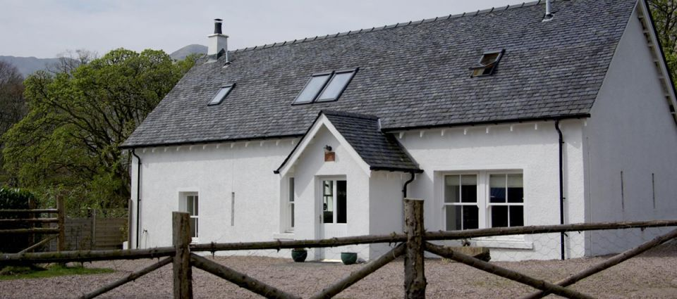 Fort William cottages raditional outside