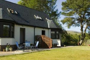 Modern holiday cottages