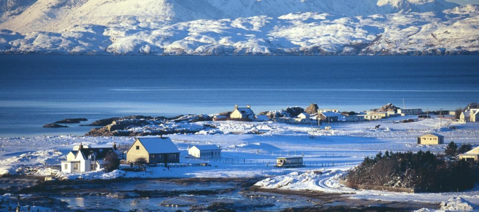Stunninig winter scenery
