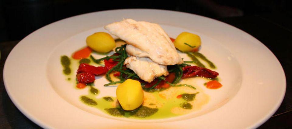 Fine seafood dining