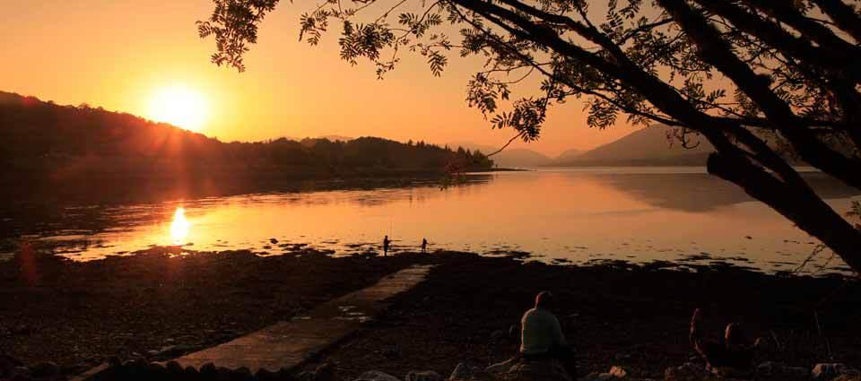 Hihgland Sunset