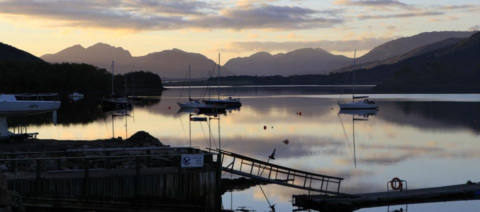 Sailing on Loch Leven