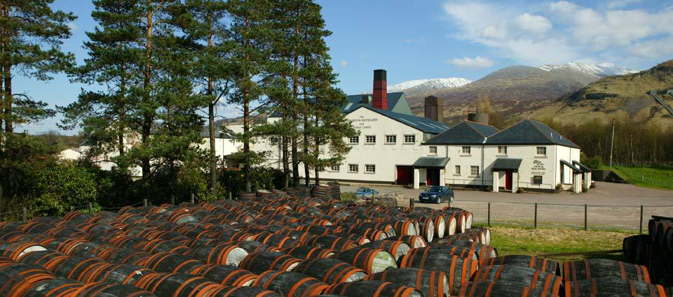 Ben Nevis Distillery, Fort William
