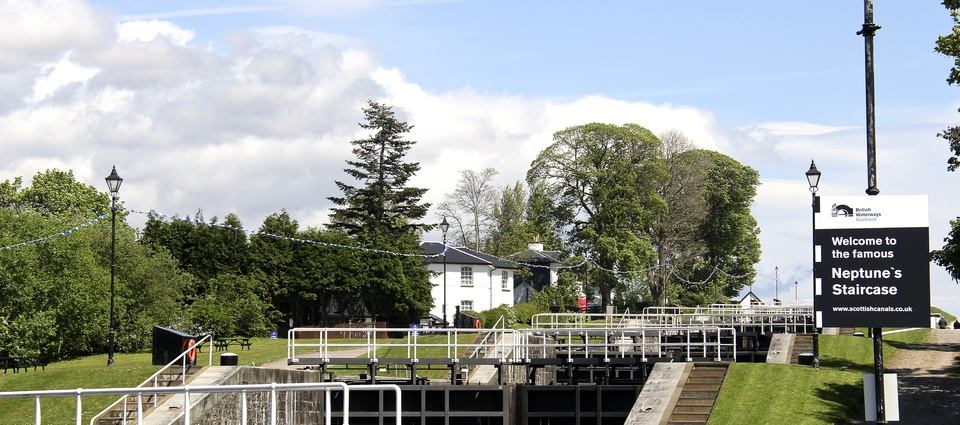 Neptune's Staircase - Caledonian Canal
