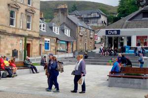 Visitors in Fort William