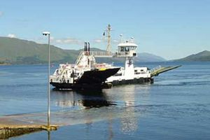 Large ardnamurchan ferry to kilcamb