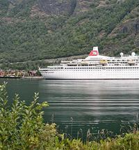 Fred Olsen cruise liner is scheduled to call into Loch Linnhe for the day when its passengers will disembark from the...