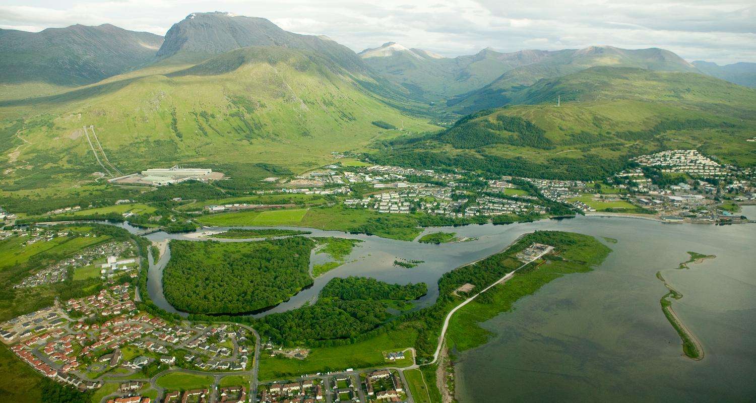 Ben Nevis and Fort William