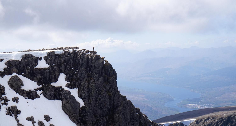 on top of Ben Nevis !