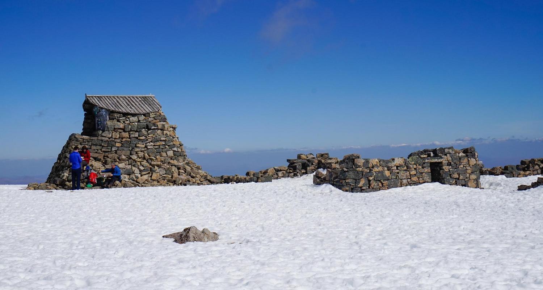 Observatory summit ruins