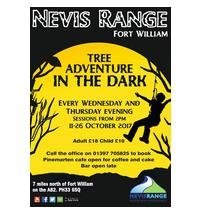 Come along and join our high wire ropes course sessions in the DARK!  A great night for kids and adults!  Sessio...