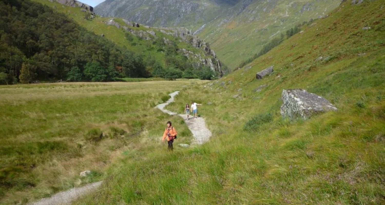 Walking in Glen Nevis
