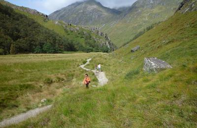 Walking in Glen Nevis
