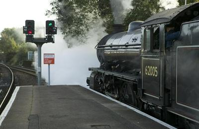 Black 5 locomotive