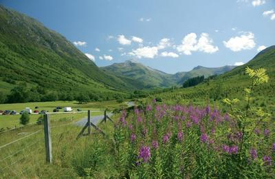 Glen Nevis by Fort William