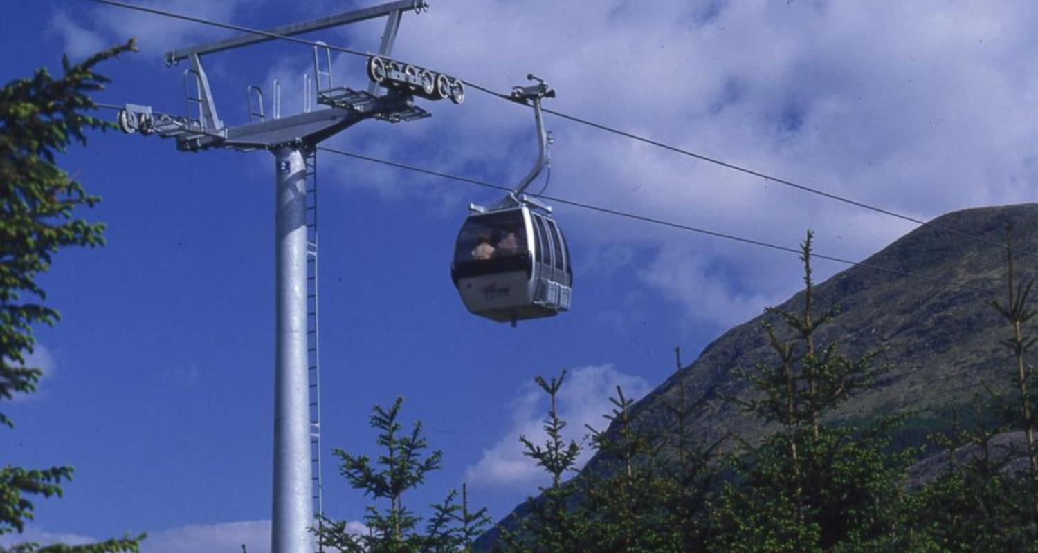 Mountain Gondola at Fort William