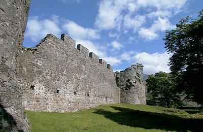 Castle ruins, Fort William