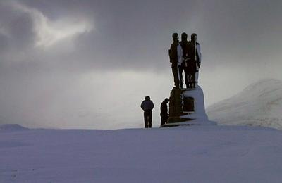The Commandos at Spean Bridge
