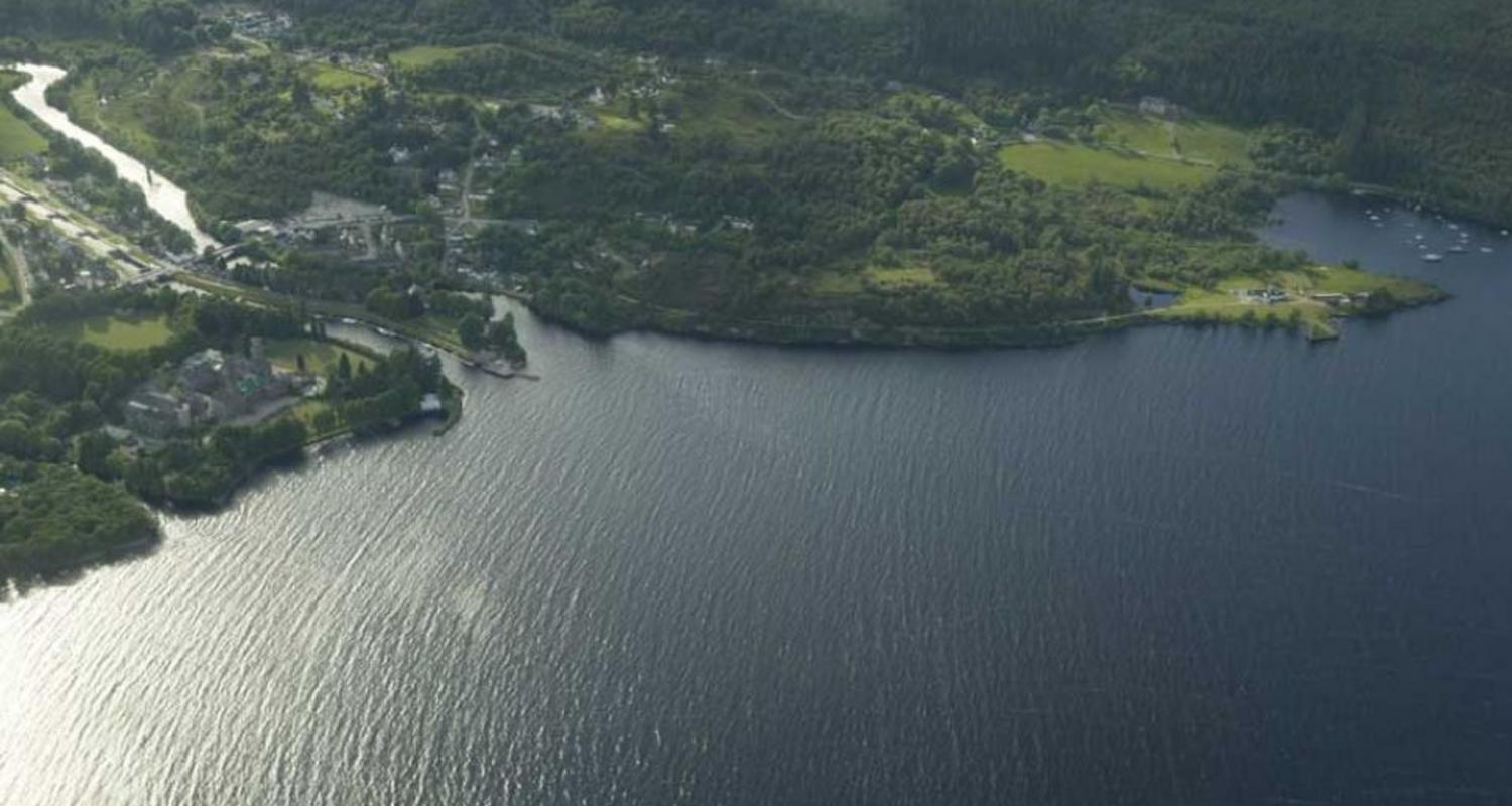 Loch Ness from the air