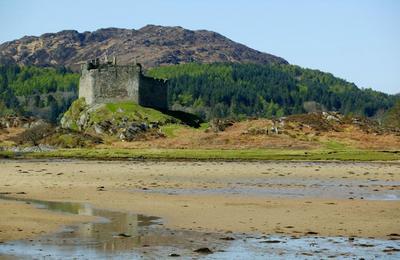 Low tide at Loch Moidart