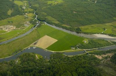 Aerial View of Gairlochy