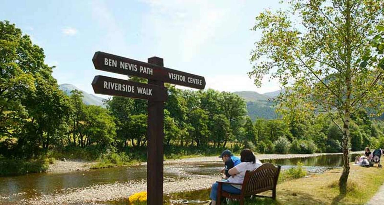 The way to Ben Nevis footpath