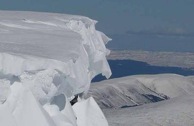 Snow Cornice Nevis Range