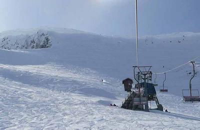 A chairlift at Nevis Range
