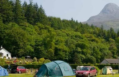 Touring pitches in Glencoe