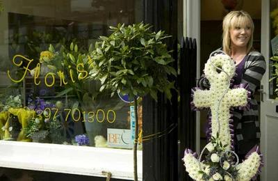 Fort William florist shop